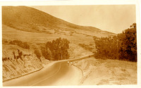 0376 Coast Highway by Emerald Bay- Tom Pulley Postcard Collection-M