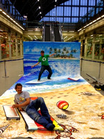 Surfing-in-the-Sea-3D-Mall-Art-Optical-Illusion